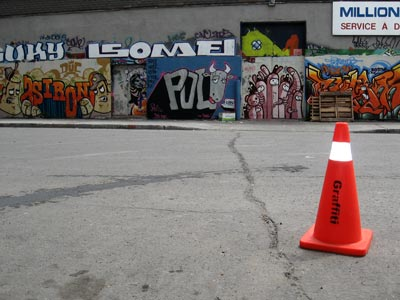 galerie graffiti à ciel ouvert