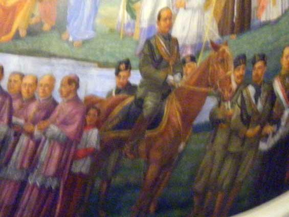 Mussolini à Notre-Dame-de-la-défense